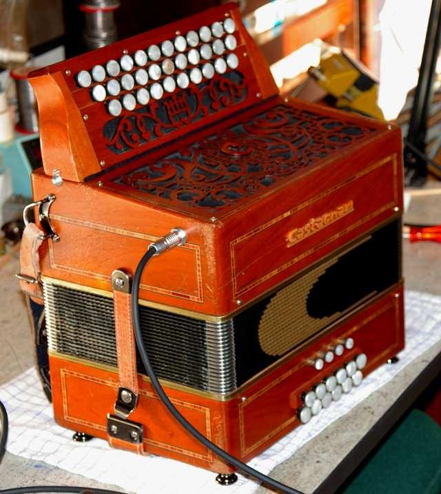 Castagnari harmonika tilhørende Frey Klarskov